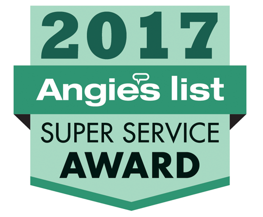 Chris' Plumbing Earns Esteemed 2017 Angie's List Super Service Award