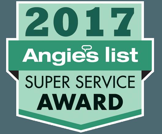 Chris' Plumbing Earns Esteemed 2017 Angie's List Super Service Award